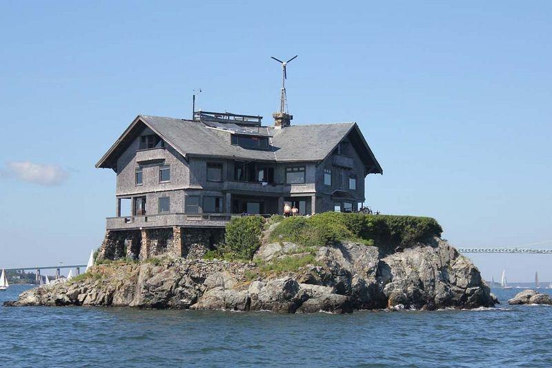 Clingstone, a casa sobre a rocha