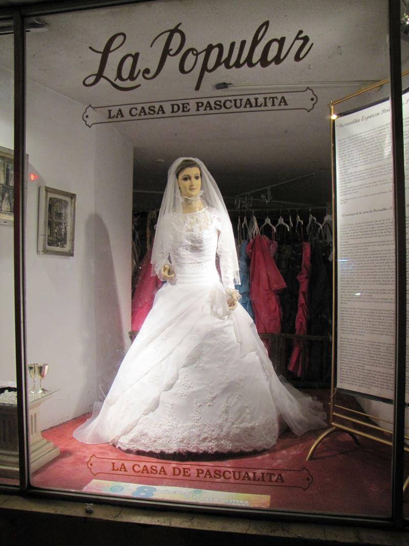 La Pascualita, o manequim cadáver