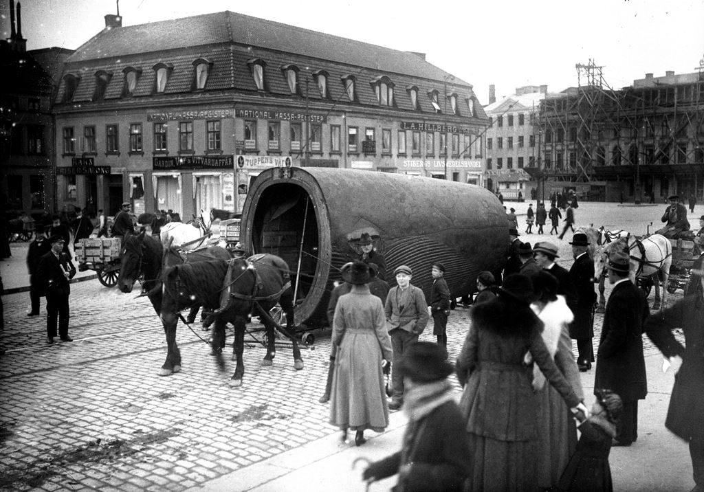 A baleia azul de Gotemburgo